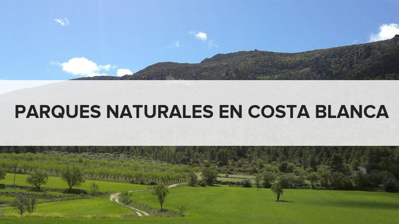 Parques naturales en Costa Blanca
